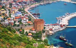 Antalya'nın Kaç İlçesi var ve Nüfusları ne Kadardır ?