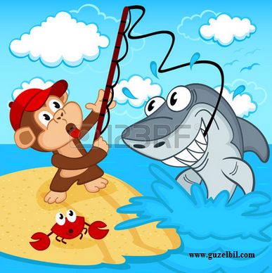 Balıkçı ile Maymun Masalı
