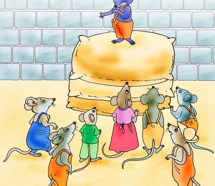 minik fare ailesinin toplantısı