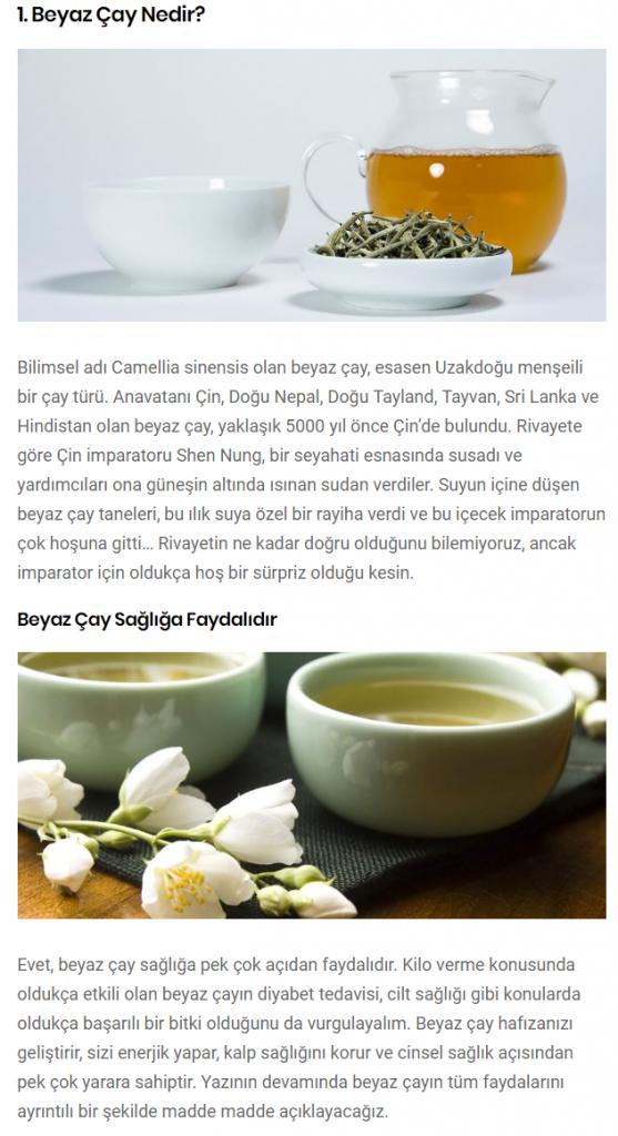 Beyaz Çay Nedir,Nerede Yetişir,Faydaları Nelerdir,Beyaz Çayın Fiyatı Nedir?